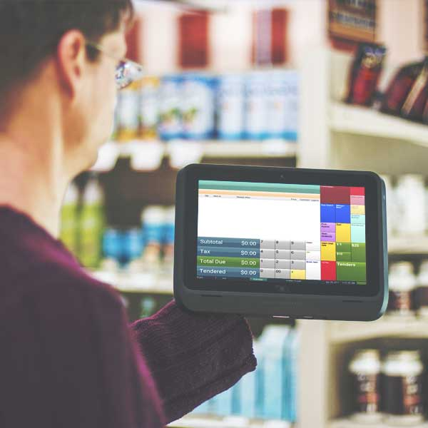 Retailer Uses Moble POS Software
