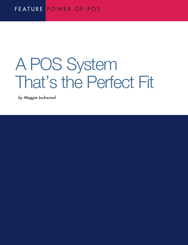 Finding a POS System That's the Perfect Fit