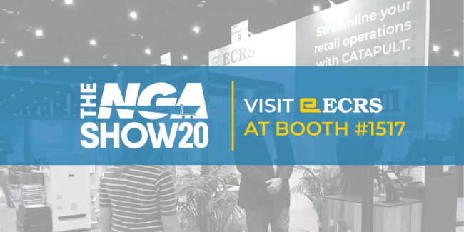 ECRS Will Demo CATAPULT® and Grocery Solutions at NGA Show 2020